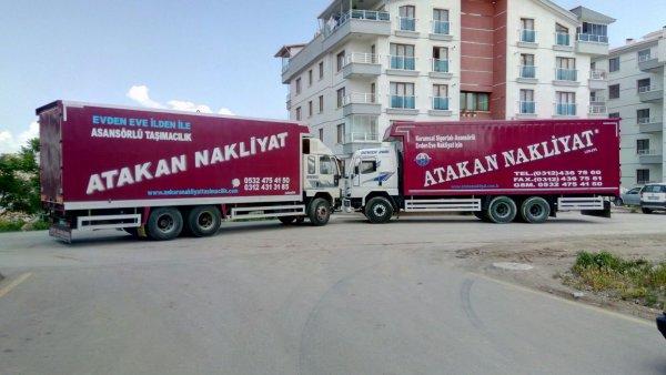 Ankara Evden Eve Nakliyat Asansörlü