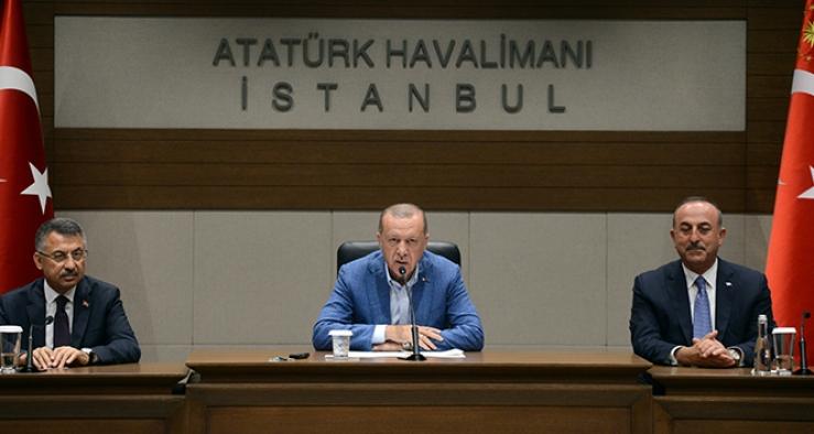 Pazar gününe işaret etti! Erdoğan'dan gündeme dair açıklamalar