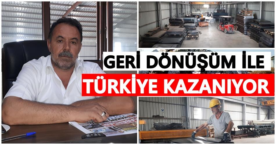 Geri dönüşüm ile Türkiye kazanıyor!