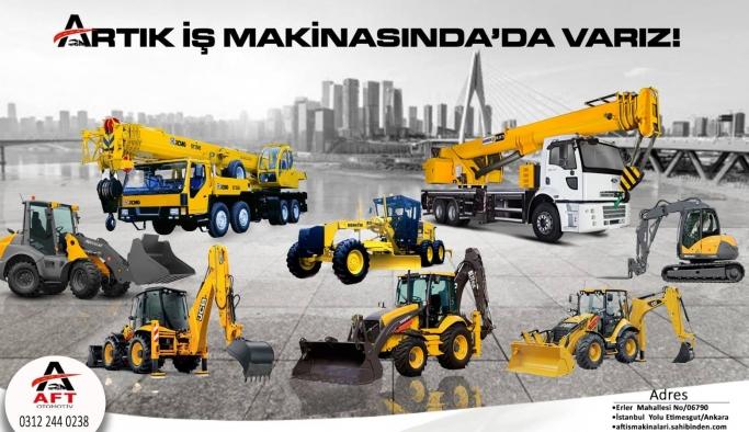 Türkiye'nin en büyük kamyon tır ve iş makinası pazarı AFT Otomotiv