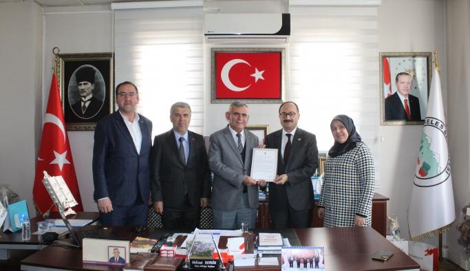 Erdoğan'dan dağ ilçelerine teşekkür mektubu